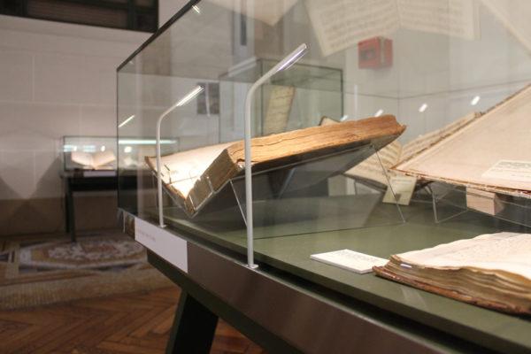 Vitrines pour la bibliothèque d'étude et patrimoine de Toulouse
