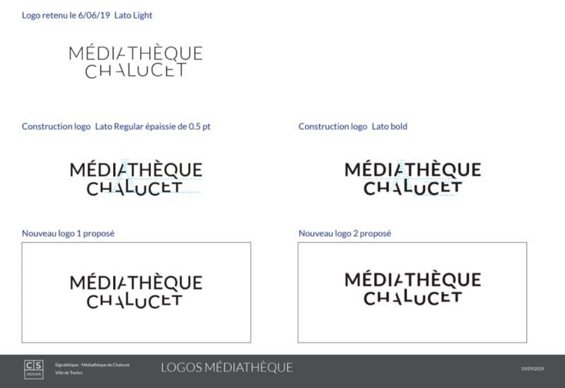 logo pour médiathèque